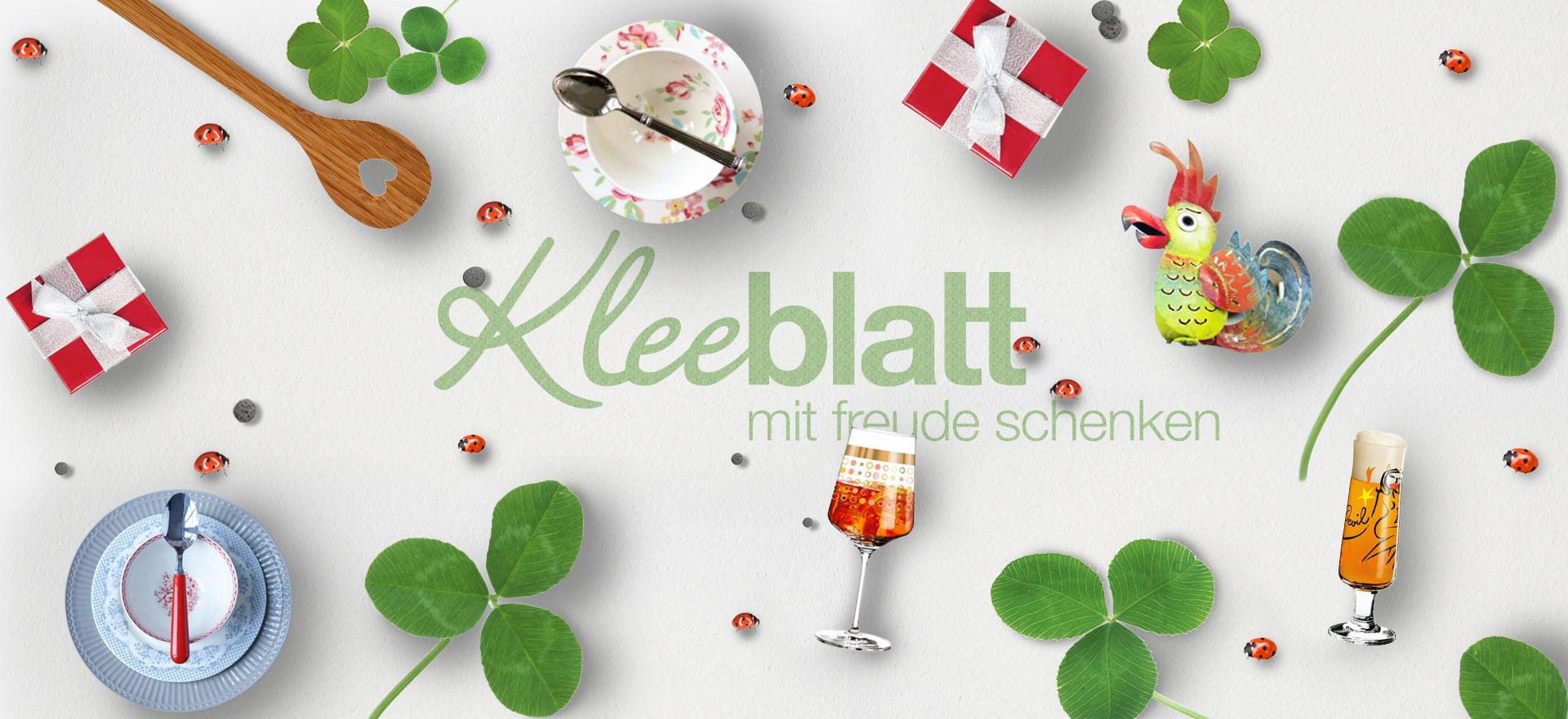 Kleeblatt Header